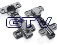 Zawias GTV prosty z amortyzatorem